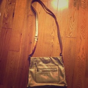 Authentic Gold Kate Spade crossbody